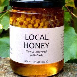 Little Wren Farm Chunk Honey