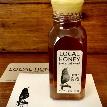 Little Wren Farm Raw Honey in Muth Jar