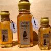 4, 8, & 16 oz. Muth jars filled with Little Wren Farm honey