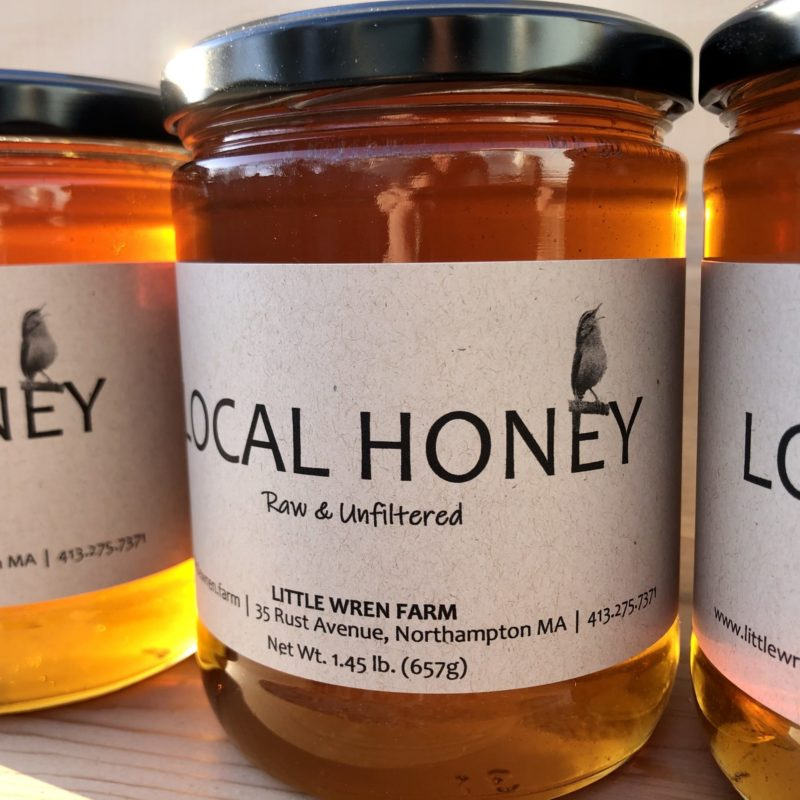 Little Wren Farm 1.45 lb Jar of Raw Honey
